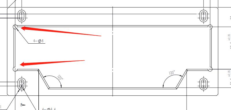 机械设计之避空让位角
